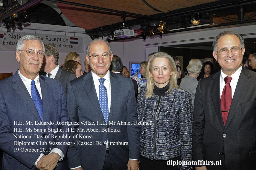 12 H.E. Eduardo Rodríguez Veltzé, H.E. Ahmet Üzümcü, H.E Sanja Štiglic, H.E. Mr. Abdel Bellouki