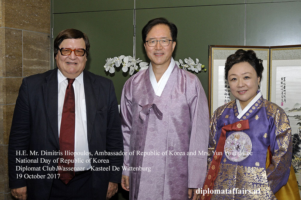 15 H.E. Mr. Dimitris Iliopoulos, Ambassador of Republic of Korea and Mrs. Yun Young Lee
