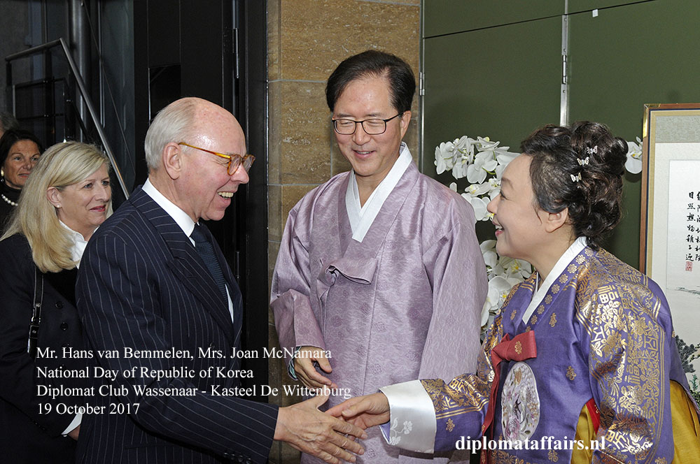 16 Ambassador of Republic of Korea H.E. Mr. Yun Young Lee Diplomat Club Wassenaar
