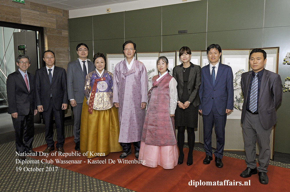 18 National Day of Republic of Korea Diplomat Club Wassenaar