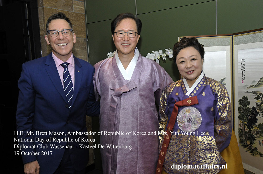 7 H.E. Mr. Brett Mason, Ambassador of Republic of Korea and Mrs. Yun Young Lee,