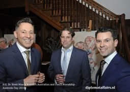 H.E. Dr. Brett Mason honours Australian-Dutch friendship