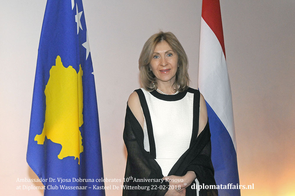 Ambassador Dr Vjosa Dobruna