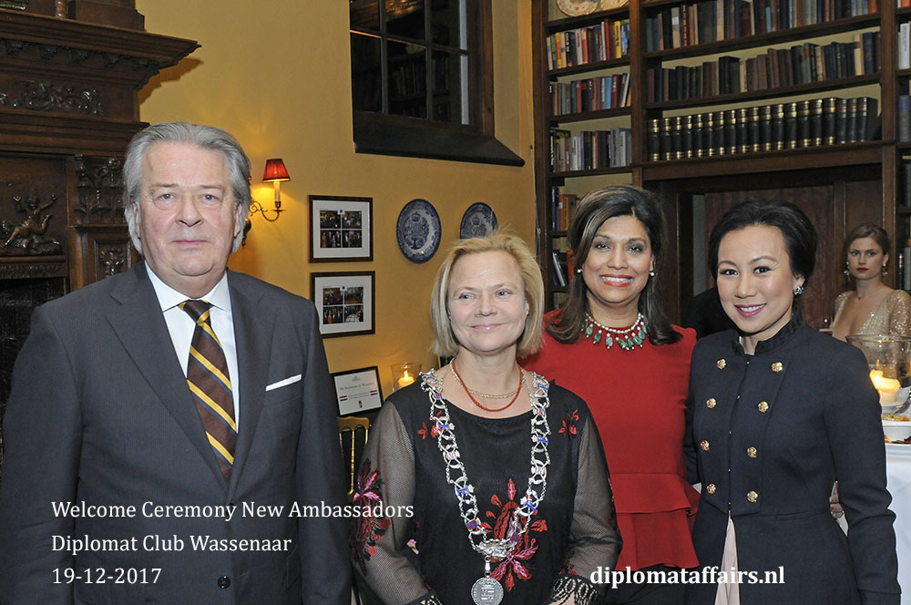 10. Diplomat Club Wassenaar Mr. Peter Bliek Mrs. Linda Zin Malaysia