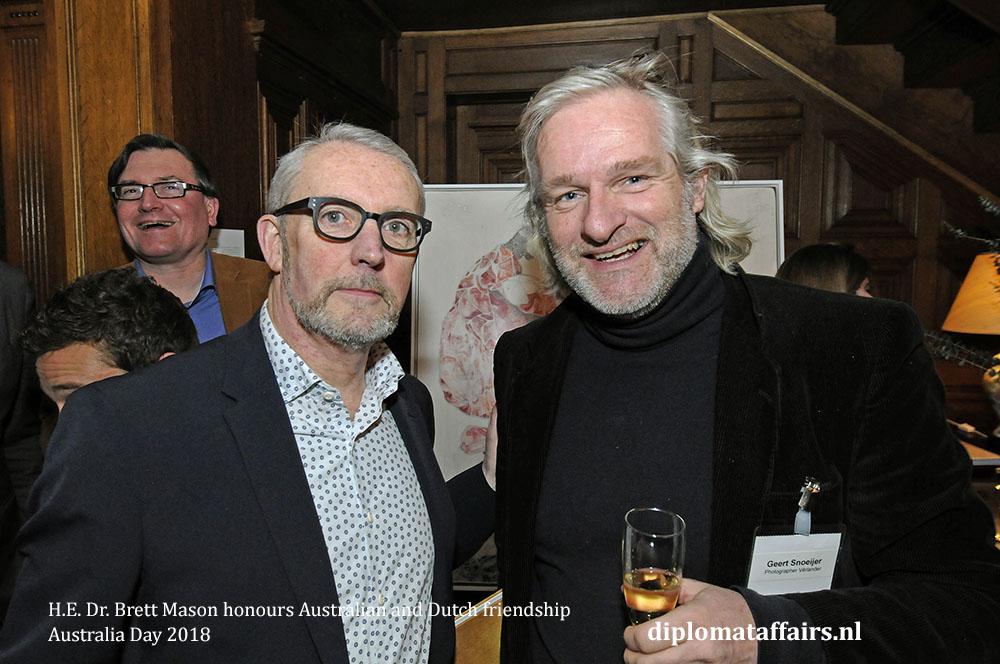10. H.E. Dr. Brett Mason honours Australian and Dutch friendship 01-02-2018