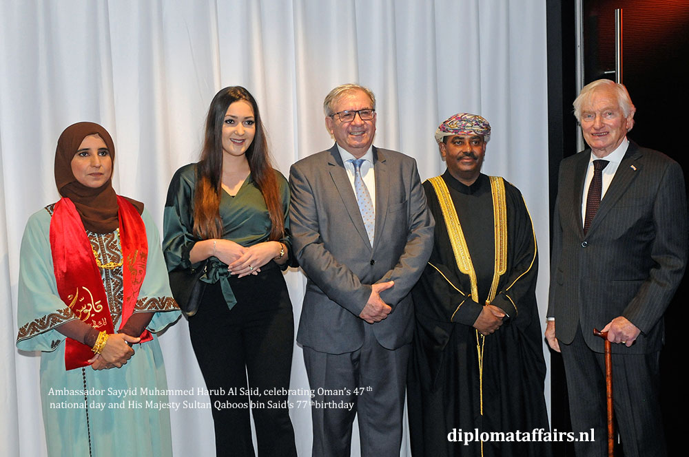 10. diplomataffairs.nl Ambassador Sayyid Muhammed Harub Al Said - Oman's 47th National Day