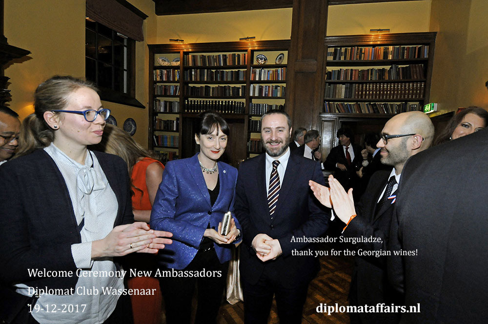 Dutch society welcomes new Ambassadors at Diplomat Club Wassenaar