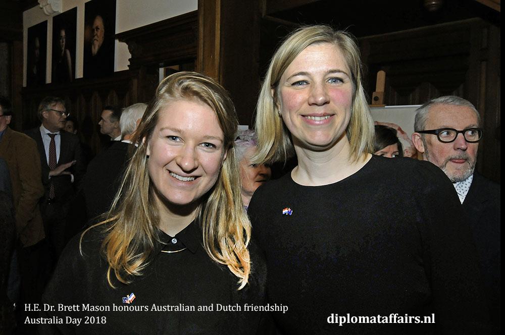 11. H.E. Dr. Brett Mason honours Australian and Dutch friendship 01-02-2018