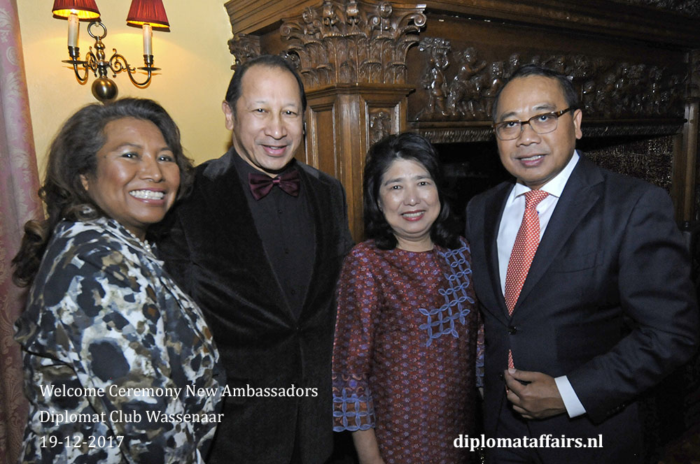 15. Diplomat Club Wassenaar Ambassdor of Indonesia I Gusti Agung Wesaka Puja and Mrs. Puja