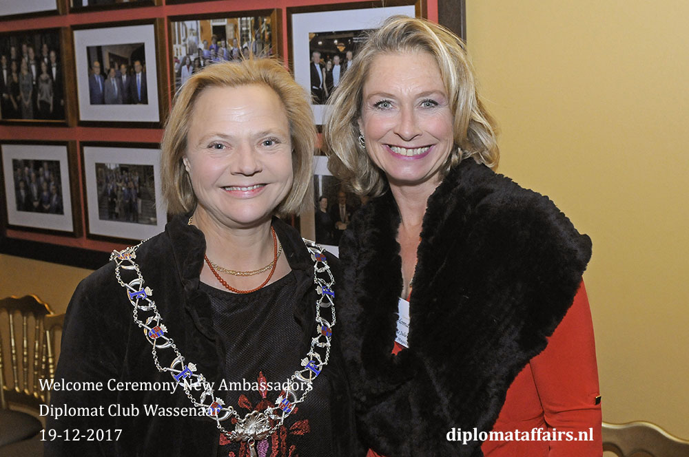 18. Diplomat Affairs Magazine, Mrs. inge Zweerts de Jong, Ms. Julie Kennedy