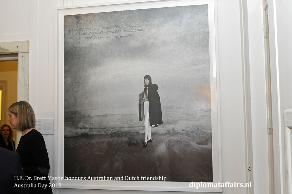 19. H.E. Dr. Brett Mason honours Australian and Dutch friendship 01-02-2018