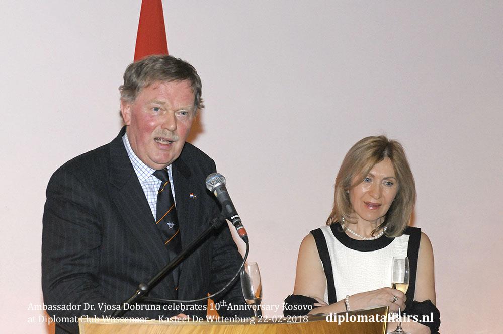 4.jpg Honorary Consul Mr. Robert den Bosch Ambassador Dr. Vjosa Dobruna