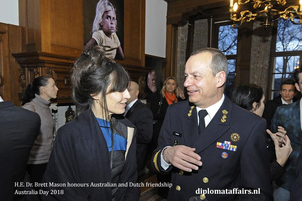 8. H.E. Dr. Brett Mason honours Australian and Dutch friendship 01-02-2018