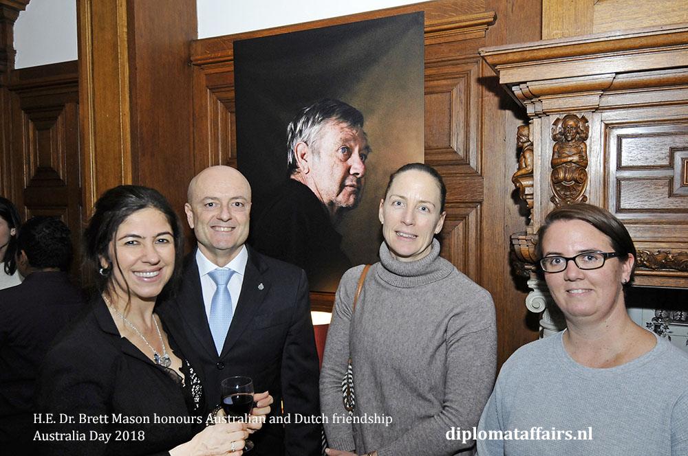 9. H.E. Dr. Brett Mason honours Australian and Dutch friendship 01-02-2018