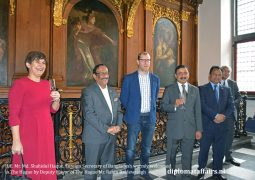 H.E. Md. Shahidul Haque, Foreign Secretary of Bangladesh warmly welcomed in The Hague