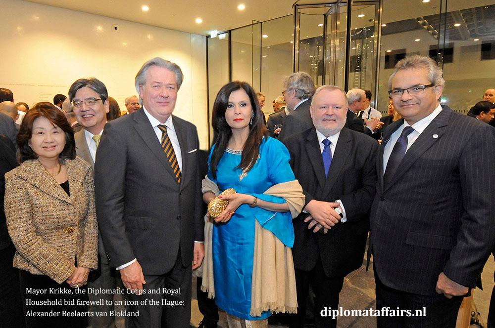 11.jpg Mrs Midori Inomata, H.E. Hiroshi Inomata, Mr. Peter Bliek, Mrs. Uzma Shujjat, H.E. Jean-Marc Hoscheit, H.E. Shujjat Ali Rathore