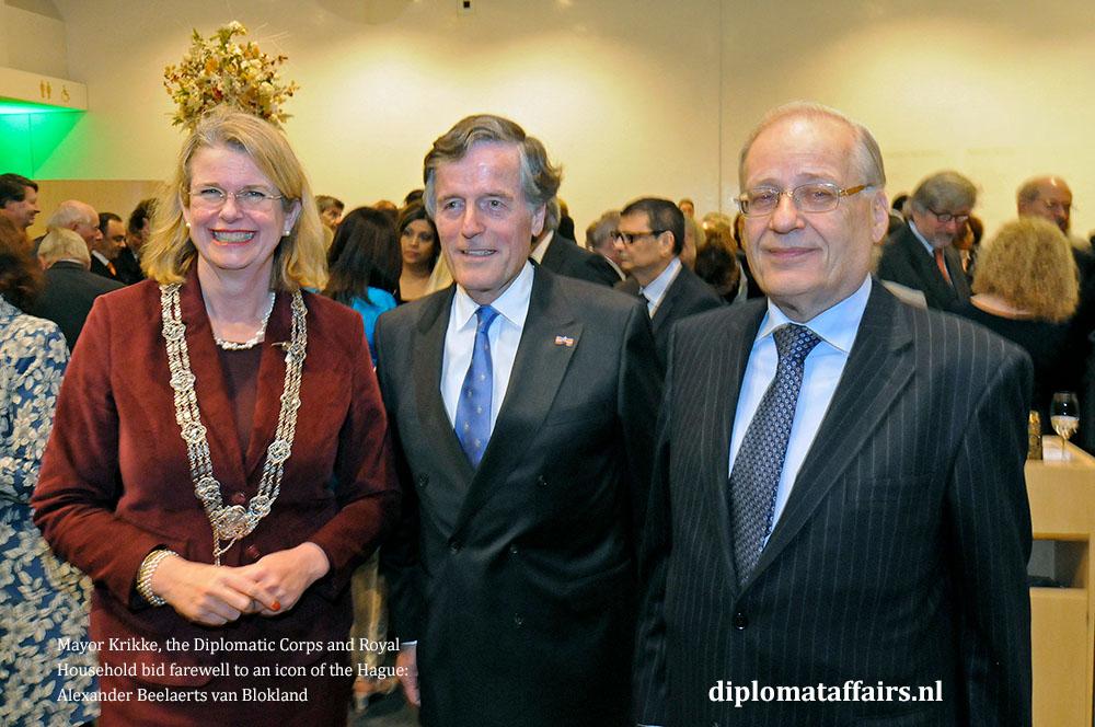 6.jpg Alexander beelaerts van Blokland, Mayor Pauline Krikke, Mr Wim Deetman