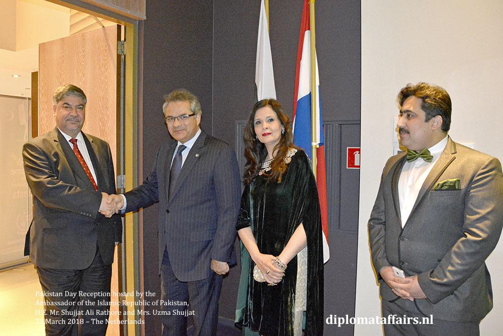 2. H.E. Dr. Hisham Al-Alawi (Iraq), H.E. Mr. Shujjat Ali Rathore, Mrs. Uzma Shujjat