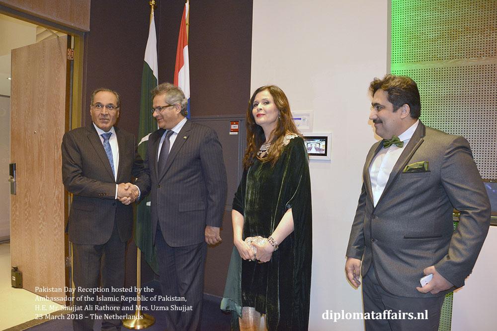 3. H.E. Mr. Abdulaziz Abdullah Abohaimed (Saudi Arabia), H.E. Mr. Shujjat Ali Rathore, Mrs. Uzma Shujjat