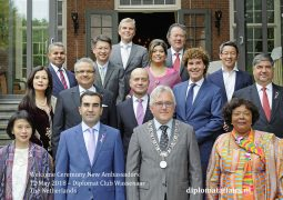 New Ambassadors accredited to The Netherlands warmly welcomed by Dutch society at Diplomat Club Wassenaar, Kasteel de Wittenburg