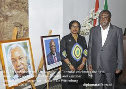 Celebrating the 54th Anniversary of the Union of Tanganyika and Zanzibar at Diplomat Club Wassenaar – Kasteel De Wittenburg