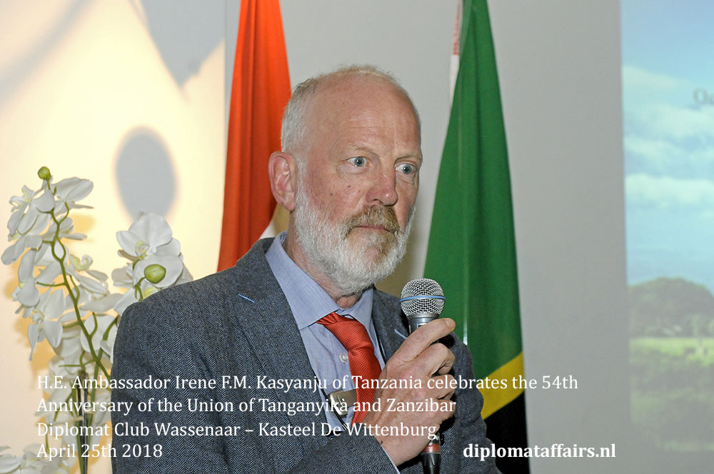 11.jpg Mr. Paul Litjens, Head of Sub-Saharan Africa Department in the Ministry of Foreign Affairs of the Netherlands