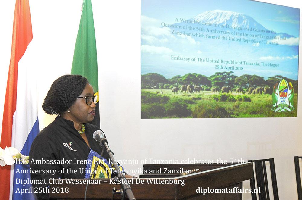 8.jpg Ambassador Irene F.M. Kasyanju of Tanzania Diplomat Club Wassenaar