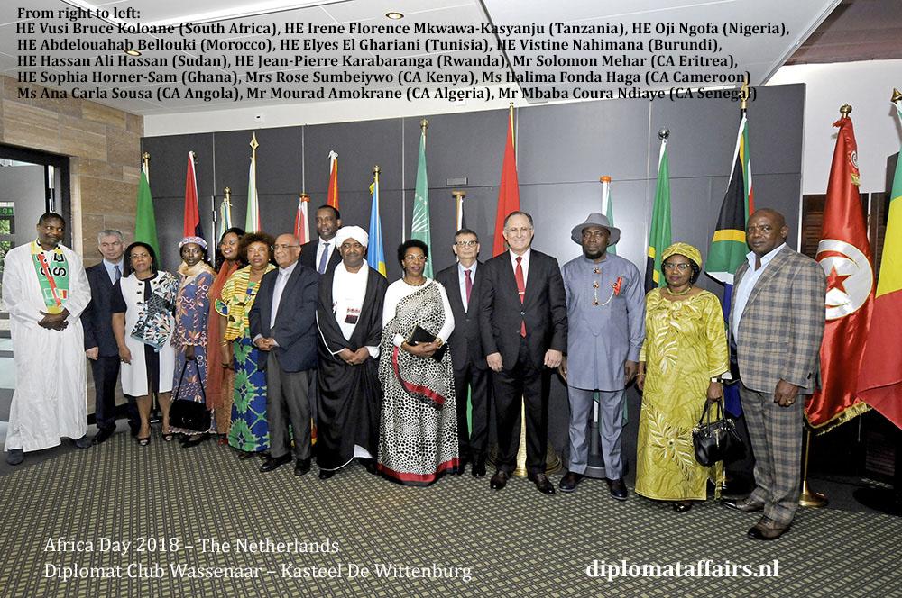 African Day 2018 - speech Ambassador Abdel Bellouki Morocco diplomaffairs.nl