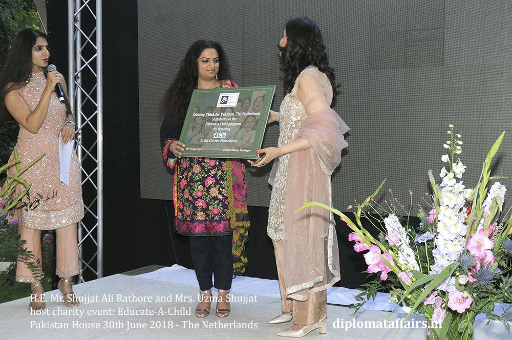 17.jpg Ambassador H.E. Mr. Shujjat Ali Rathore and Mrs. Uzma Shujjat host charity event Pakistan house diplomataffairs.nl