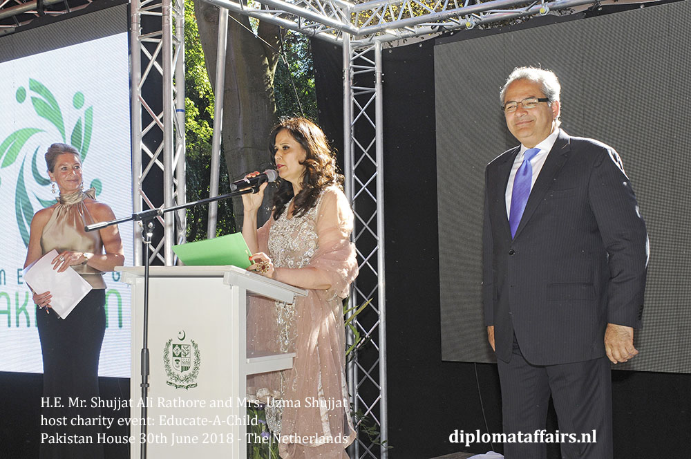 2.jpg Ambassador of Pakistan H.E. Mr. Shujjat Ali Rathore and Mrs. Uzma Shujjat Diplomataffairs.nl