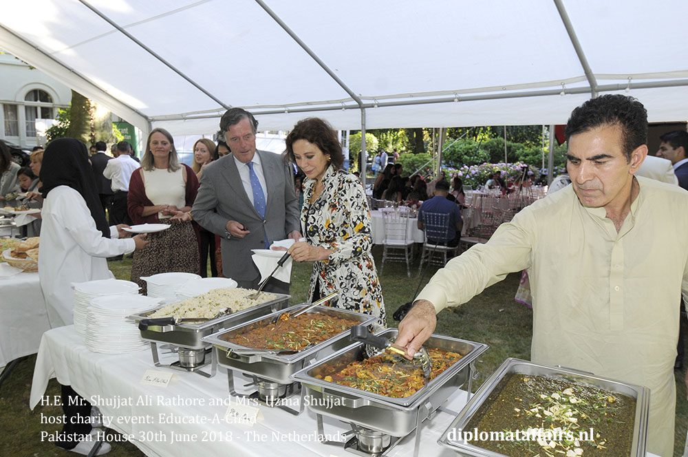 26.jpg Ambassador H.E. Mr. Shujjat Ali Rathore and Mrs. Uzma Shujjat host charity event Pakistan house diplomataffairs.nl