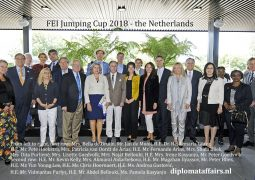 Diplomats focus on Sports and Business: 300 (inter)national companies involved in CHIO Rotterdam