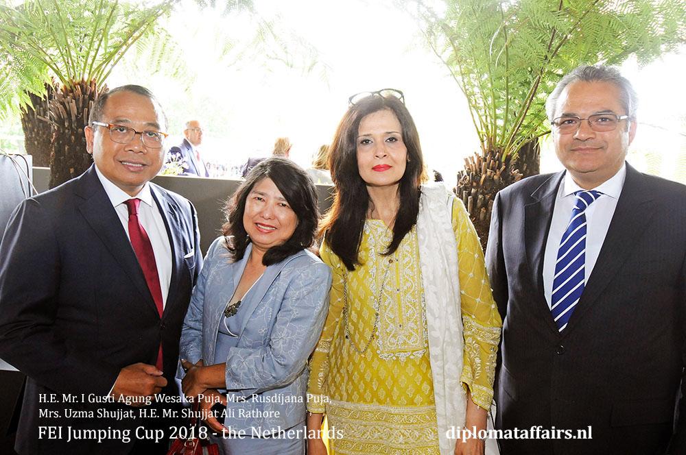 2.jpg H.E. Mr. I Gusti Agung Wesaka Puja, Mrs. Rusdijana Puja, Mrs. Uzma Shujjat, H.E. Mr. Shujjat Ali Rathore