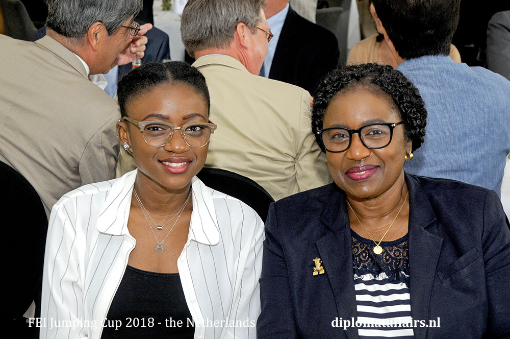 6.jpg Ambassador of Tanzania Mrs. Irene Kasyanju and daughter Pamela
