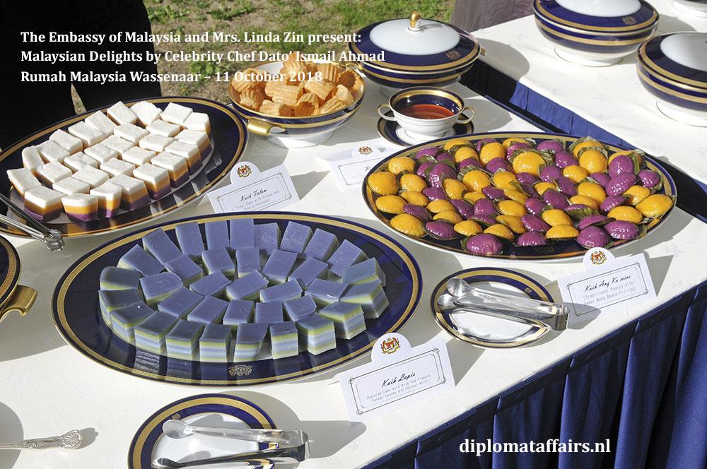 10. Malaysian Delights Chef Dato' Ismail Ahmad, Mrs Linda Zin Diplomat Affairs Magazine