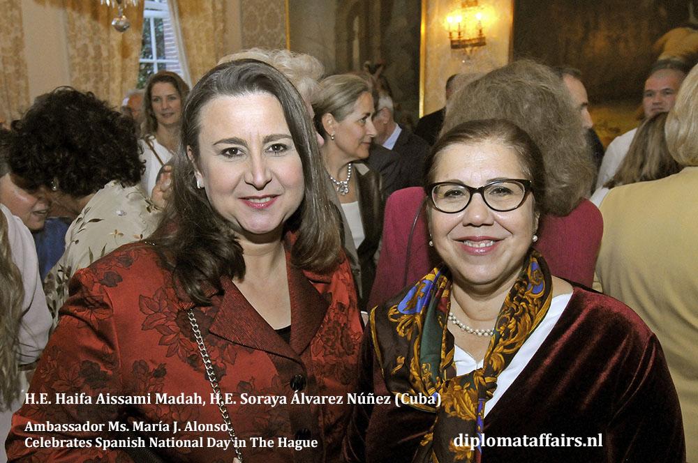 12. H.E. Haifa Aissami Madah, H.E. Soraya Álvarez Núñez