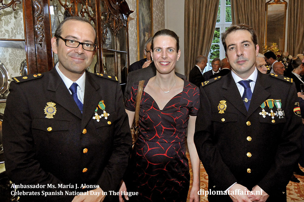 14. Ambassador Ms. María J. Alonso Celebrates Spanish National Day in The Hague
