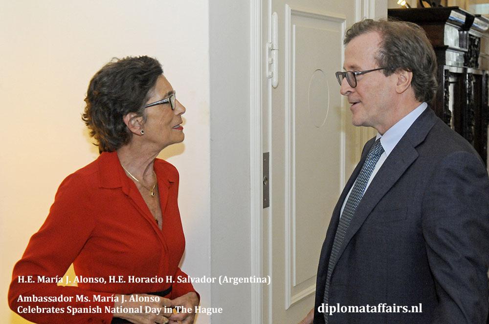 5. H.E. María J. Alonso, H.E. Horacio H. Salvador Diplomat Affairs Magazine