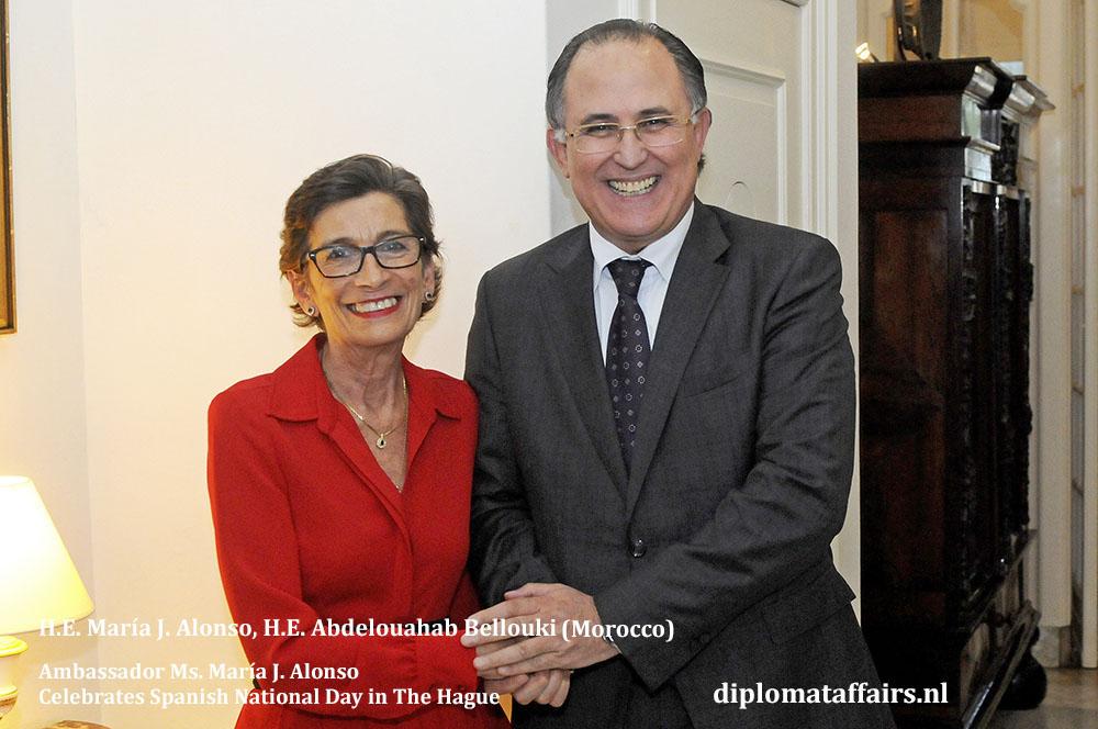 6. H.E. María J. Alonso, H.E. Abdelouahab Bellouki