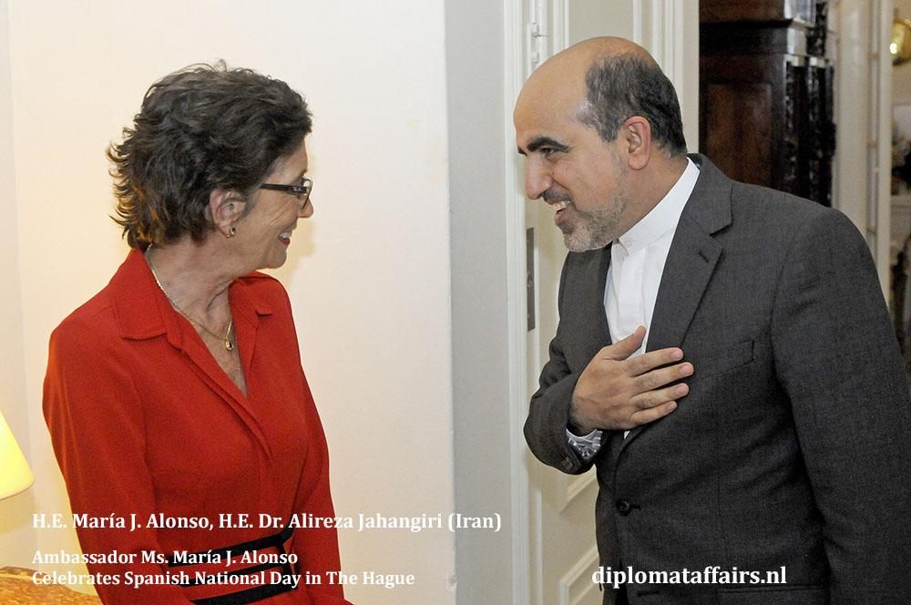 7. H.E. María J. Alonso, H.E. Dr. Alireza Jahangiri