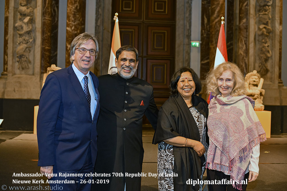 11a.jpg Ambassador of Germany HE Dirk Brengelmann HE Venu Rajamony Dr. Saroj Thapa Mrs. Brigitte Brengelmann Diplomat Affairs Magazine