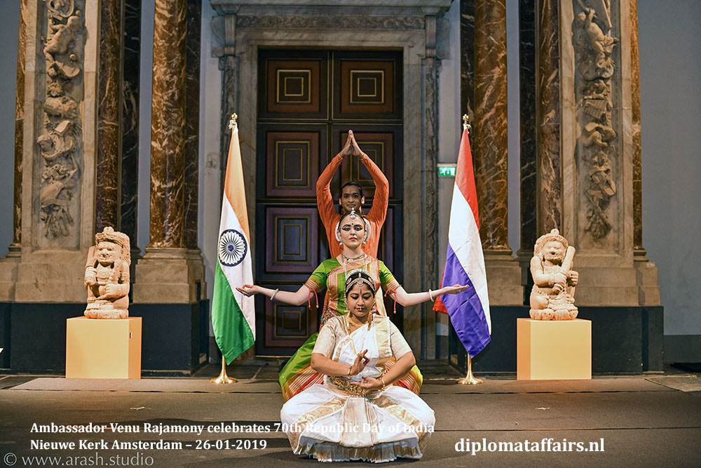 13.jpg amalgamation of three of India's popular classical dance styles, Odissi from the east, Kathak from the north and Bharatnatyam Diplomat Affairs Magazine