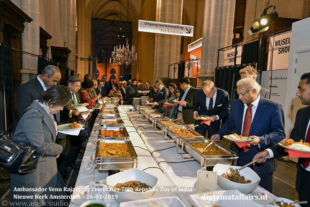 15.jpg Culinary treat by the chefs of Restaurant Maharani, Noordeinde, The Hague Diplomat Affairs Magazine