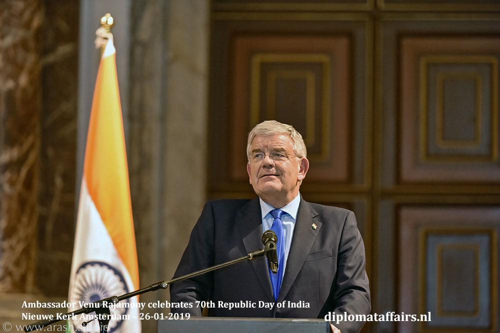 5.jpg Ambassador Venu Rajamony celebrates 70th Republic Day of India Mayor Jan van Zanen Diplomat Affairs Magazine