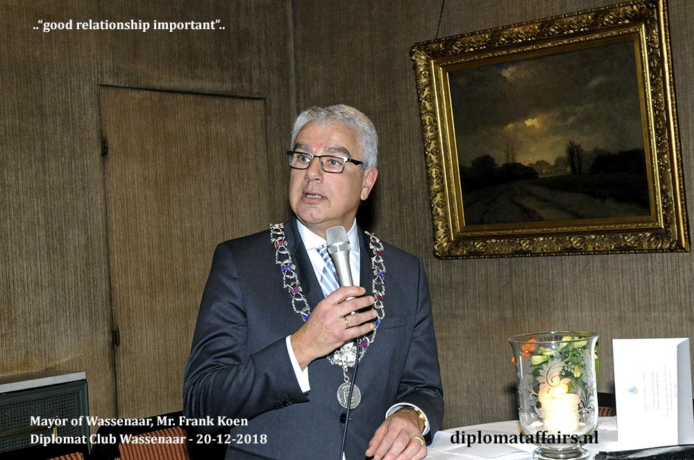 648b.jpg welcome ceremony new Ambassadors hosted by Mayor Frank Koen and Mrs. Shida Bliek Founder Diplomat Club Wassenaar Diplomat Affairs Magazine