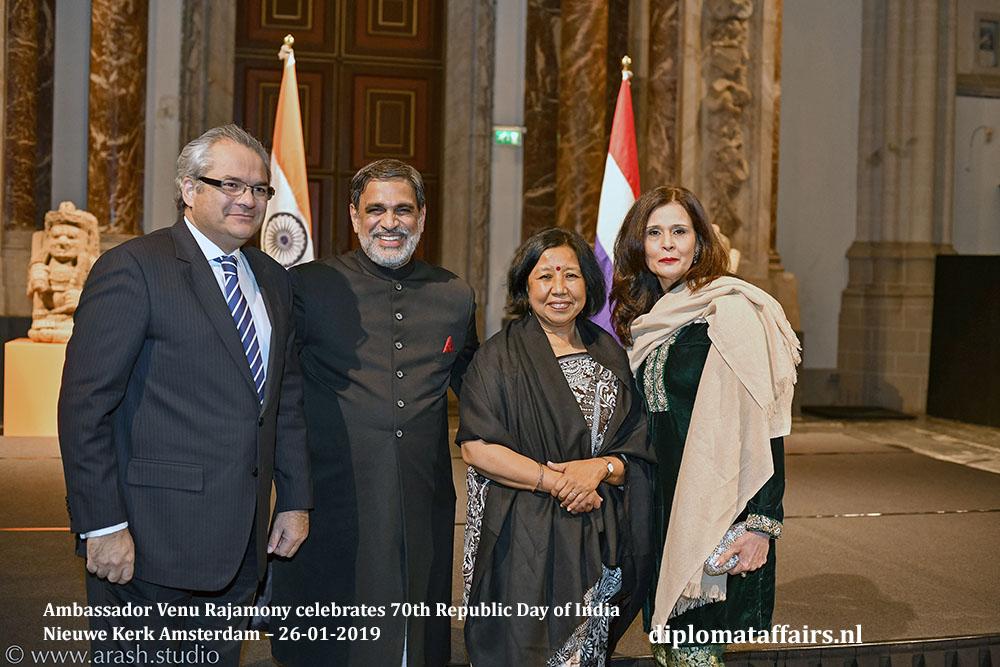 8.jpg Ambassador of Pakistan HE Shujjat Ali Rathore HE Venu Rajamony Dr. Saroj Thapa Mrs. Uzma Shujjat Diplomat Affairs Magazine