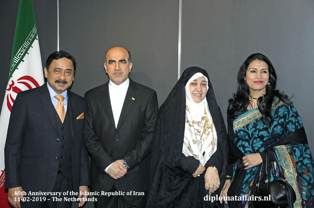 12. Left H.E. Sheikh Mohammed Belal, Ambassador of Bangladesh and Dr. Dilruba Nasrin