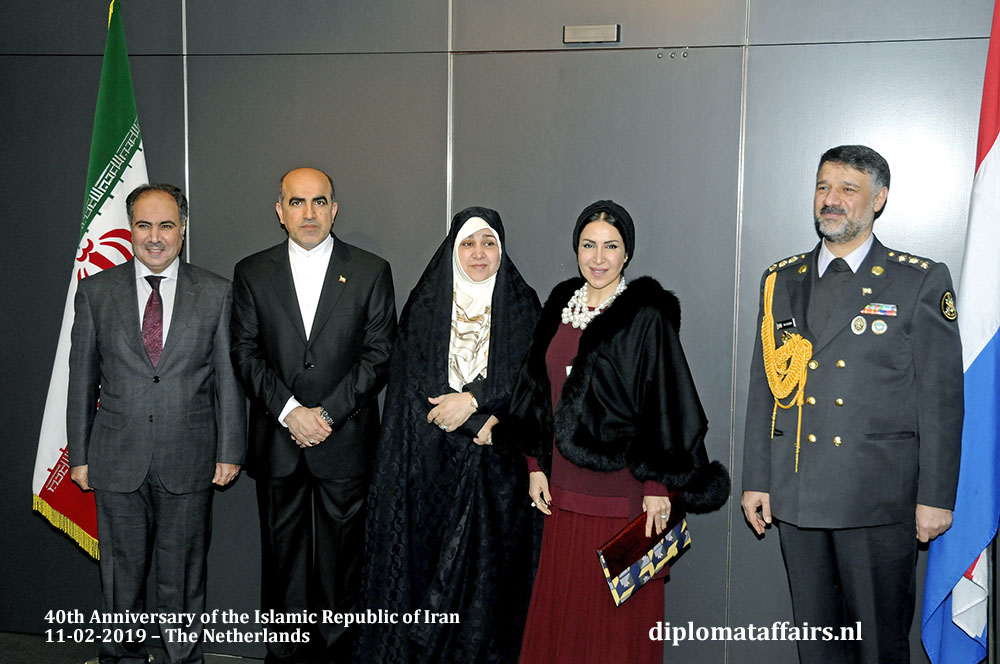 13. Left H.E. Abdul Rahman Humood Al-Otaibi, Ambassador of Kuwait and Madam Jamila Al-Otaibi