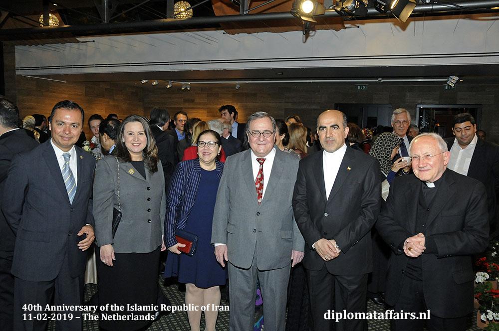 14. H.E Agustín Vásquez Gómez (El Salvador), H.E. Haifa Aissami Madah (Venezuela), H.E. Soraya Álvarez Núñez (Cuba), H.E. Carlos Jose Arguello Gomez (Nicaragua), Nuncio Mgr. Aldo Cavalli