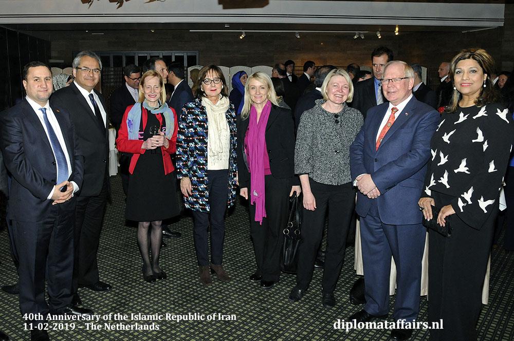 16. H.E. Dr Alireza Jahangiri celebrates the 40th anniversary of the Islamic Republic of Iran Diplomat Affairs Magazine